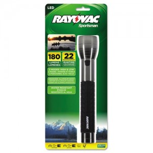Rayovac Sportsman 180 Lumen 3C LED Flashlight Rayovac Sportsman 180 Lumen 3C LED Flashlight SE4W3CA